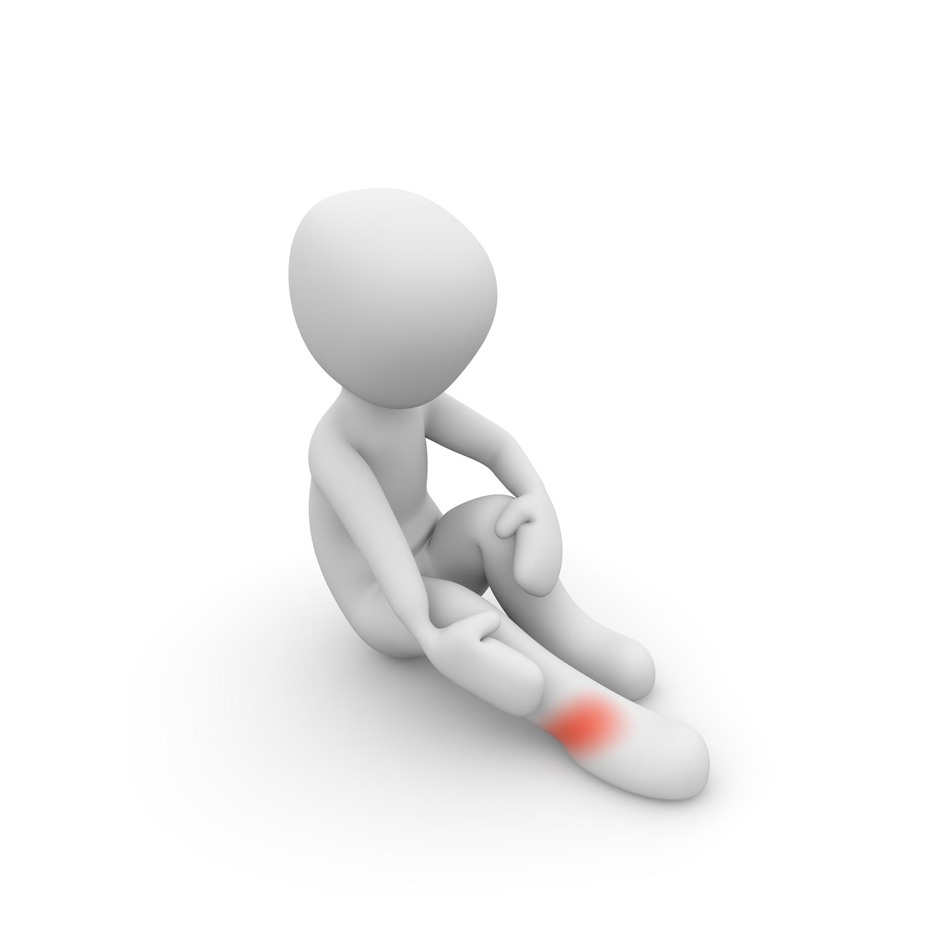 Patient leg pain