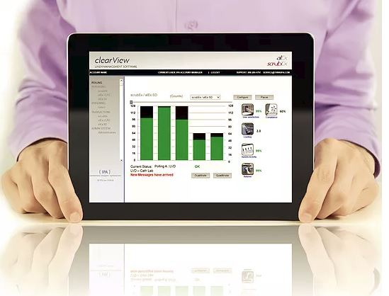 scrubEx software clearView